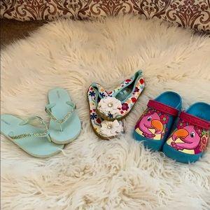Girls shoe bundle.